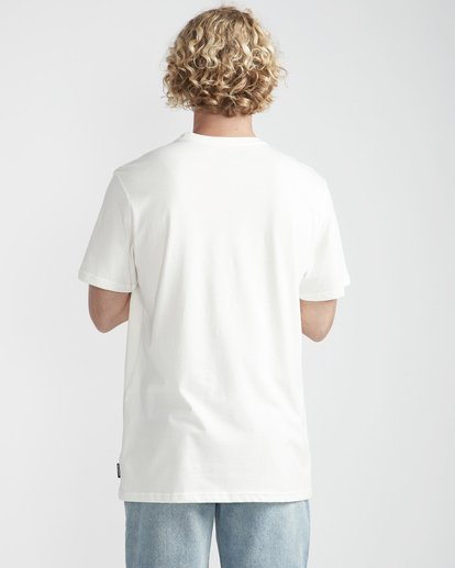 3 Outline T-Shirt Beige N1SS12BIP9 Billabong