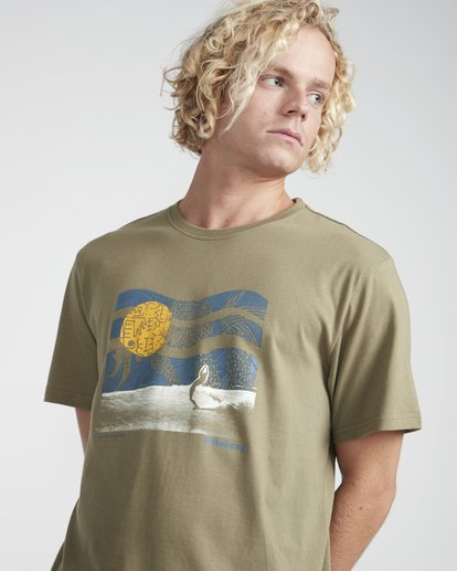 2 Outline T-Shirt Gemustert N1SS12BIP9 Billabong