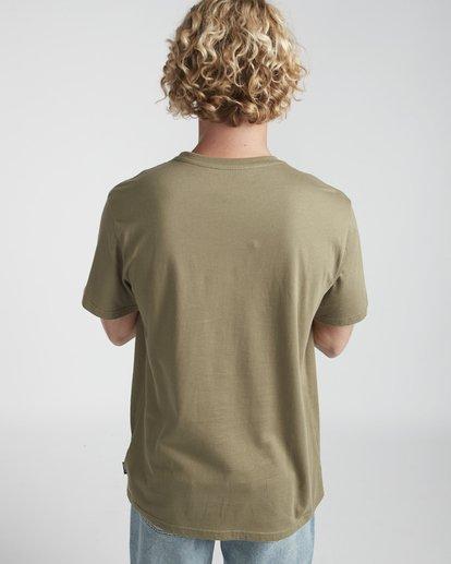 3 Outline T-Shirt Gemustert N1SS12BIP9 Billabong