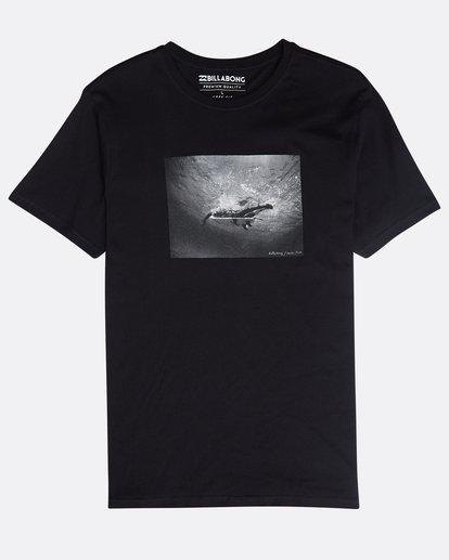 0 Focal T-Shirt Schwarz N1SS13BIP9 Billabong