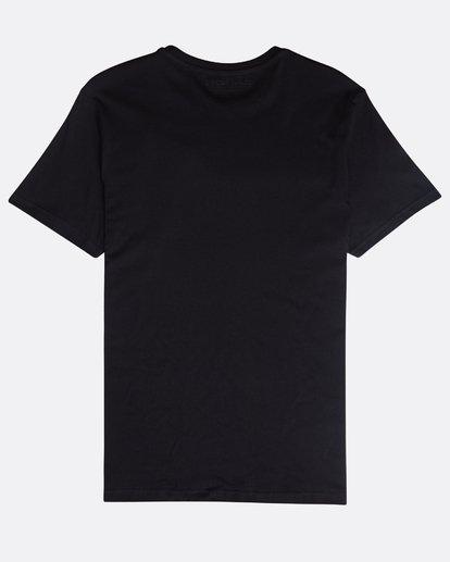 1 Focal T-Shirt Schwarz N1SS13BIP9 Billabong