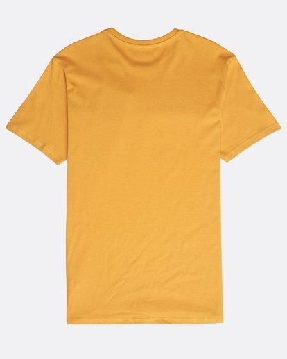 1 Focal T-Shirt Yellow N1SS13BIP9 Billabong