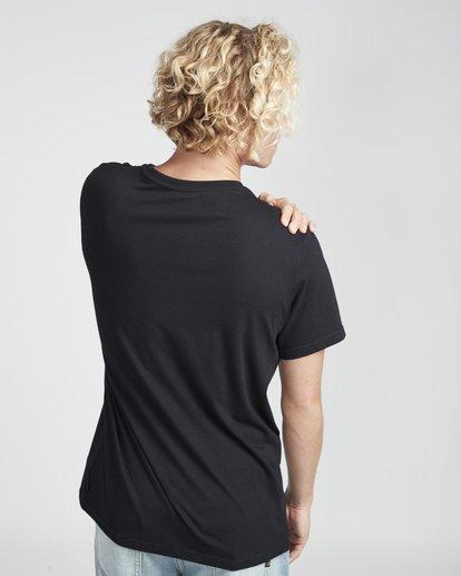 3 Focal T-Shirt Schwarz N1SS13BIP9 Billabong