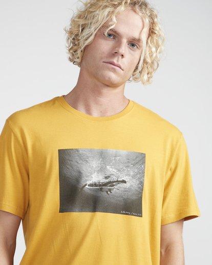 2 Focal T-Shirt Yellow N1SS13BIP9 Billabong
