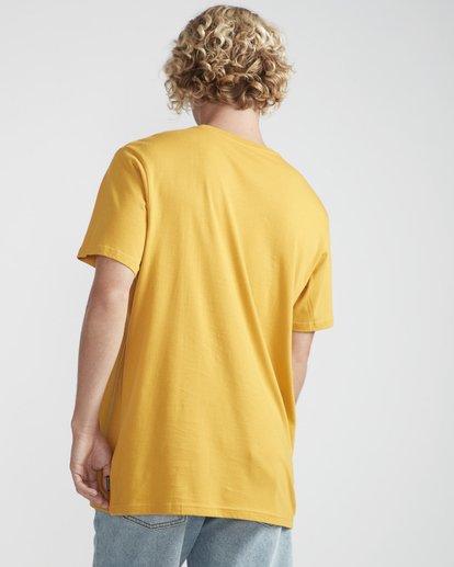 3 Focal T-Shirt Yellow N1SS13BIP9 Billabong