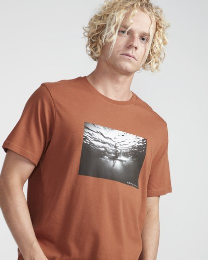 2 Focal T-Shirt Green N1SS13BIP9 Billabong