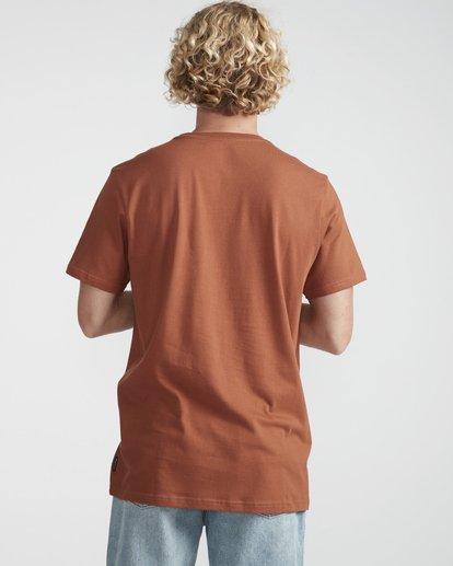 3 Focal T-Shirt Green N1SS13BIP9 Billabong