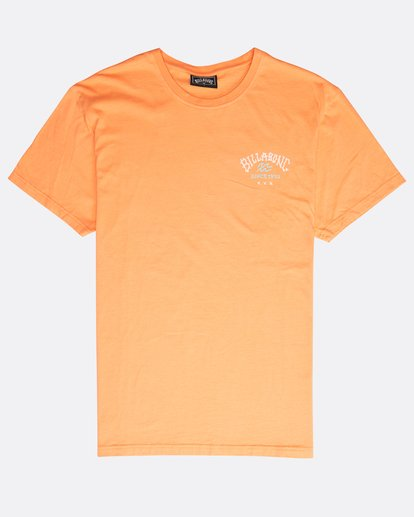 0 Get Back T-Shirt Orange N1SS14BIP9 Billabong