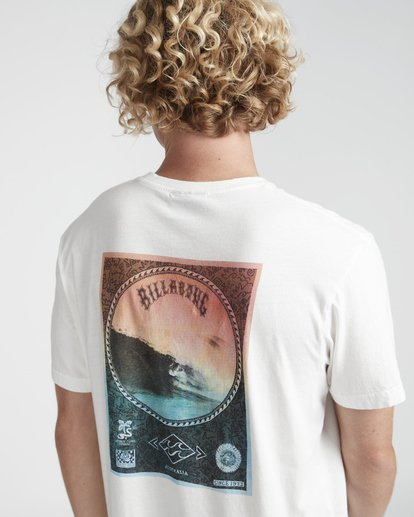 2 Get Back T-Shirt Beige N1SS14BIP9 Billabong