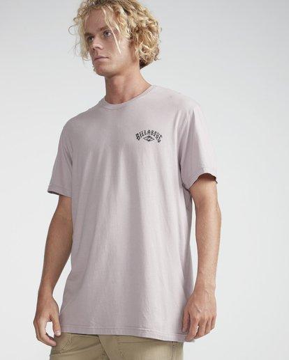 3 Get Back T-Shirt Violeta N1SS14BIP9 Billabong