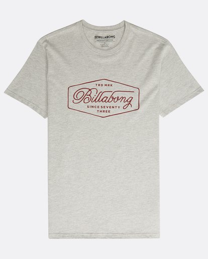 0 Trademark T-Shirt Grau N1SS15BIP9 Billabong