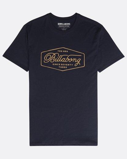 0 Trademark T-Shirt Azul N1SS15BIP9 Billabong