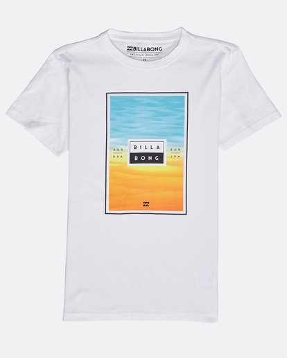 0 Tucked T-Shirt Weiss N1SS16BIP9 Billabong