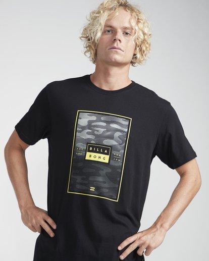 2 Tucked T-Shirt Schwarz N1SS16BIP9 Billabong