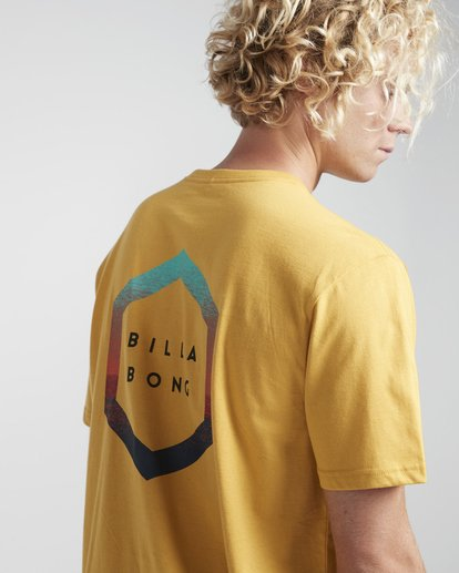 2 Access Back T-Shirt Gelb N1SS17BIP9 Billabong