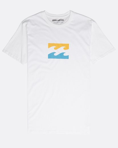 0 Team Wave Team T-Shirt Weiss N1SS19BIP9 Billabong