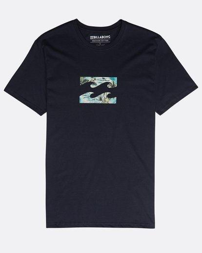 0 Team Wave Team T-Shirt Blau N1SS19BIP9 Billabong