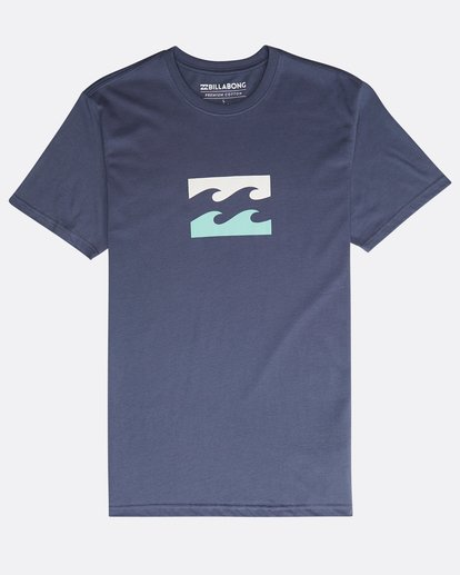 0 Team Wave Team T-Shirt Violeta N1SS19BIP9 Billabong