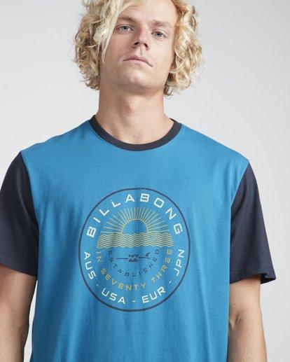 2 Rock Point T-Shirt Blue N1SS20BIP9 Billabong