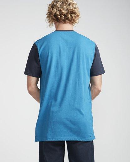 4 Rock Point T-Shirt Blue N1SS20BIP9 Billabong