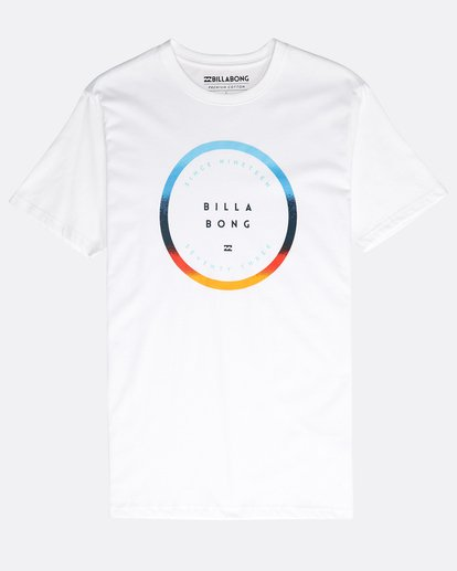 0 Rotated T-Shirt Weiss N1SS21BIP9 Billabong
