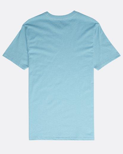 1 Rotated T-Shirt Blau N1SS21BIP9 Billabong