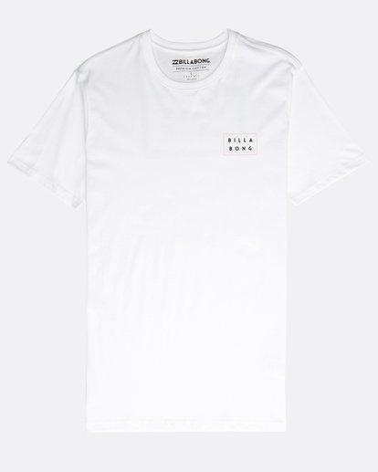 0 Die Cut Theme T-Shirt Weiss N1SS23BIP9 Billabong