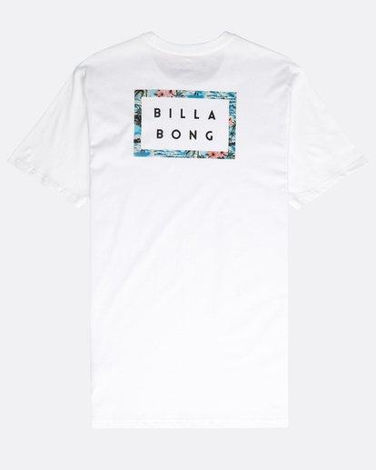 1 Die Cut Theme T-Shirt Blanco N1SS23BIP9 Billabong