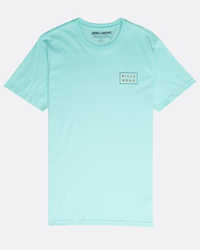 0 Die Cut Theme T-Shirt Verde N1SS23BIP9 Billabong