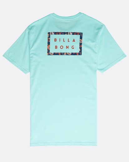 1 Die Cut Theme T-Shirt Verde N1SS23BIP9 Billabong
