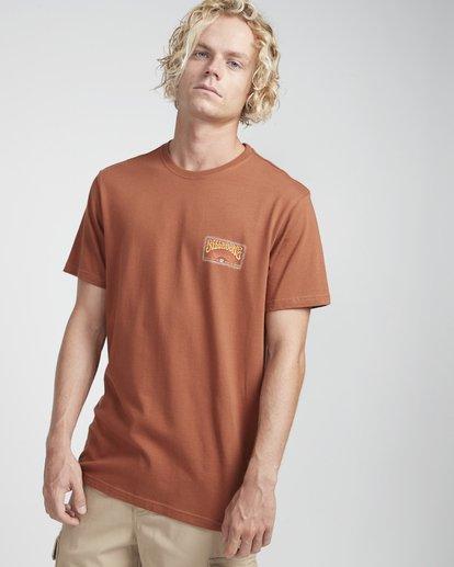 3 Deadhead T-Shirt Verde N1SS25BIP9 Billabong