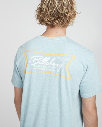 2 Riverside T-Shirt Blau N1SS26BIP9 Billabong