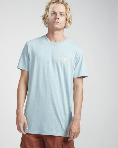 3 Riverside T-Shirt Blau N1SS26BIP9 Billabong
