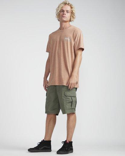 3 Riverside T-Shirt Verde N1SS26BIP9 Billabong
