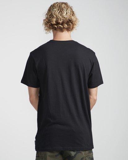 3 Spirit Walker T-Shirt Negro N1SS27BIP9 Billabong
