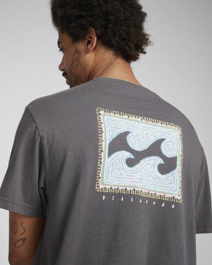 3 Nairobi T-Shirt Gris N1SS28BIP9 Billabong