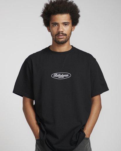 2 Vinta T-Shirt Black N1SS31BIP9 Billabong