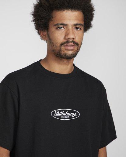 3 Vinta T-Shirt Black N1SS31BIP9 Billabong