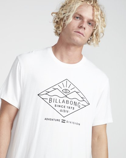 2 Watcher Tee Ss Blanc N1SS36BIP9 Billabong