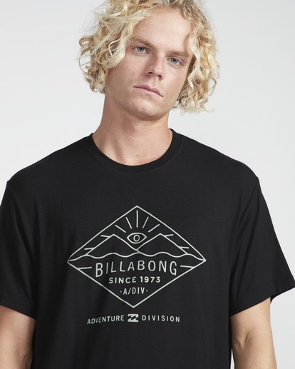 2 Watcher Tee Ss Negro N1SS36BIP9 Billabong