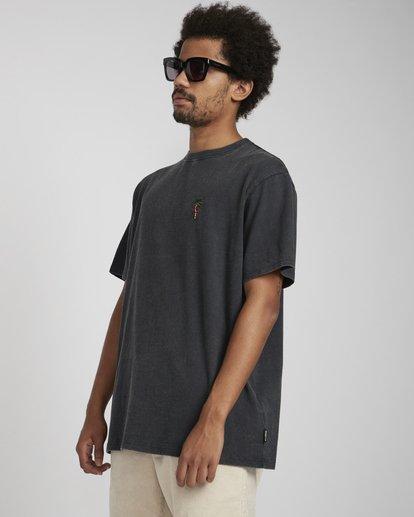 5 Snake On A Palm T-Shirt Negro N1SS37BIP9 Billabong