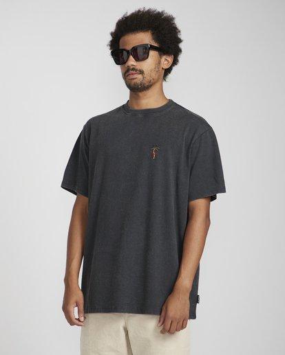 2 Snake On A Palm T-Shirt Schwarz N1SS37BIP9 Billabong