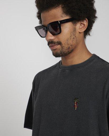 3 Snake On A Palm T-Shirt Negro N1SS37BIP9 Billabong