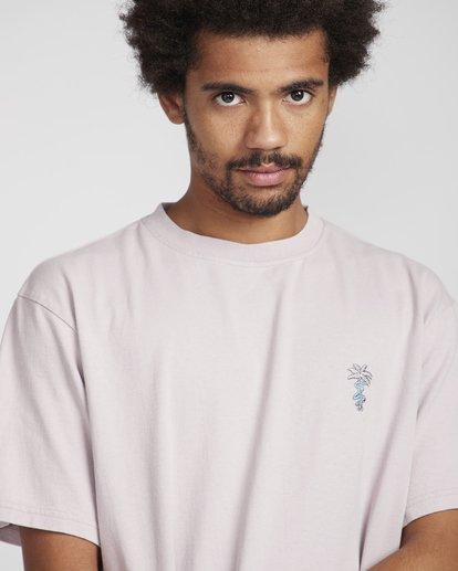 2 Snake On A Palm T-Shirt Violett N1SS37BIP9 Billabong