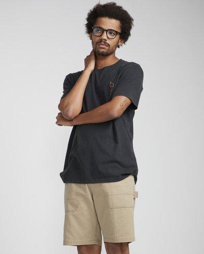 4 Reapin T-Shirt Noir N1SS38BIP9 Billabong