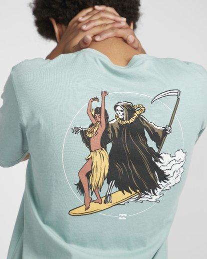 2 Reapin T-Shirt Verde N1SS38BIP9 Billabong