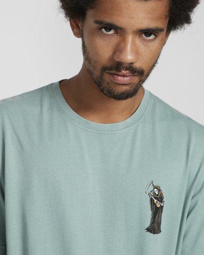 3 Reapin T-Shirt Verde N1SS38BIP9 Billabong