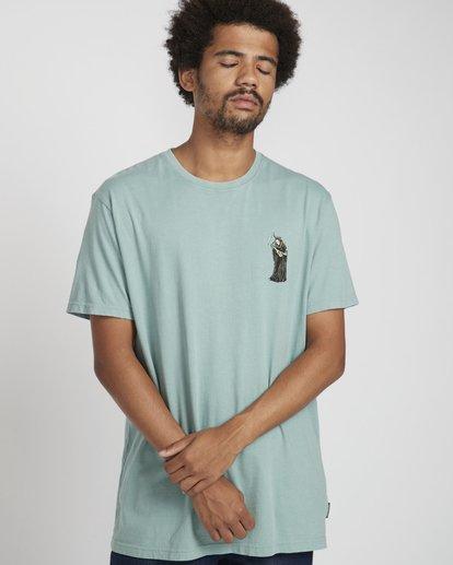 4 Reapin T-Shirt Verde N1SS38BIP9 Billabong