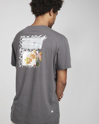 4 Pigment Line T-Shirt Gris N1SS40BIP9 Billabong