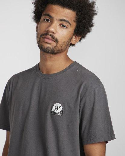 3 Pigment Line T-Shirt Gris N1SS40BIP9 Billabong
